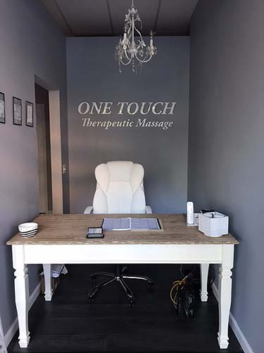 One Touch Massage Reception